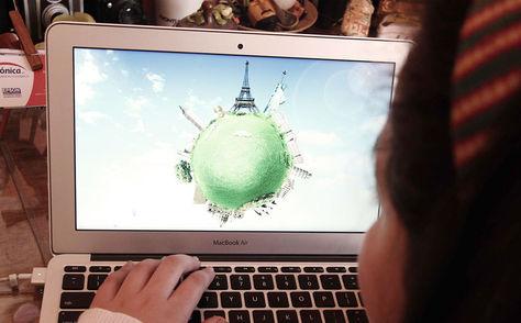 Algunas promociones turísticas por internet.