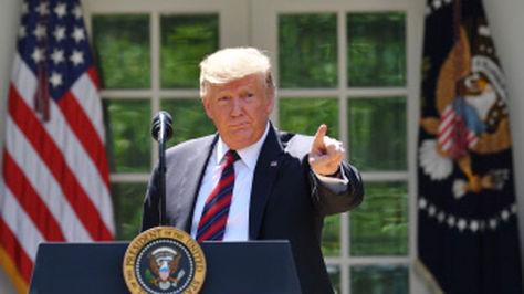 El presidente Donald Trump anuncia reforma migratoria en la Casa Blanca