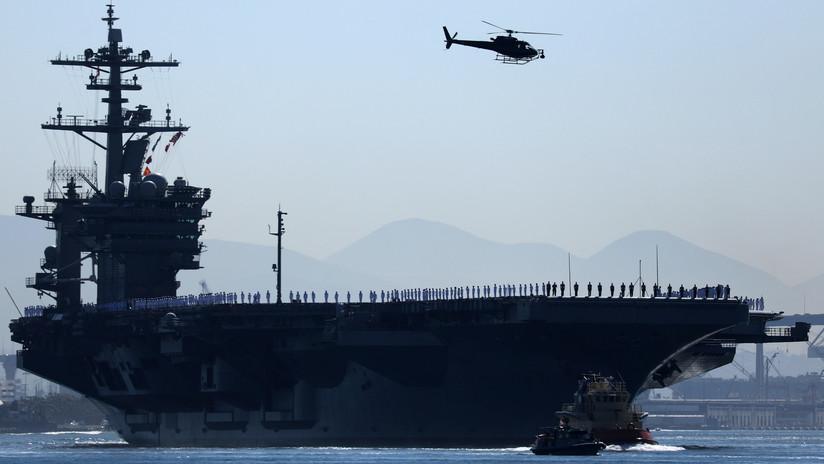 VIDEOS: Un portaaviones de EE.UU. participa en maniobras en Alaska por primera vez en 10 años