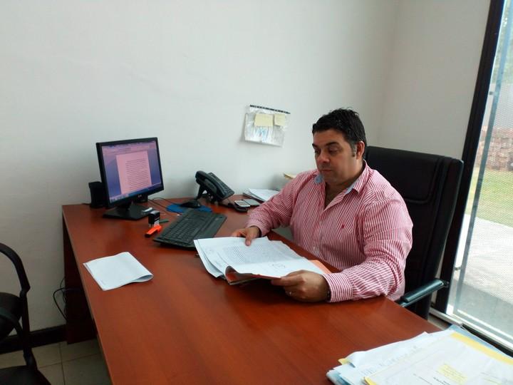 El juez Correccional y Contravencional de Villa Mercedes, Santiago Ortiz. (Gentileza José Baigorria del sitio www.sanluisnoticia.com.ar)
