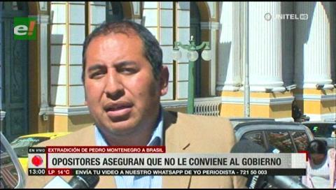 Santamaría asegura que al gobierno no le conviene extraditar a Montenegro