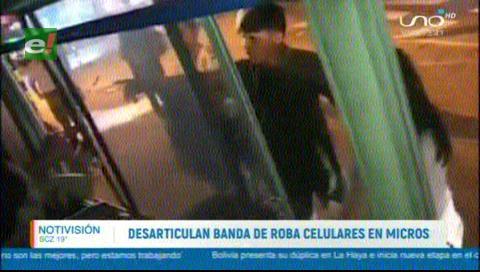 Desarticulan banda de atracadores de micros en Santa Cruz