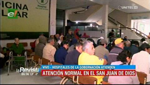 Atención normal en el San Juan de Dios tras el paro de 48 horas