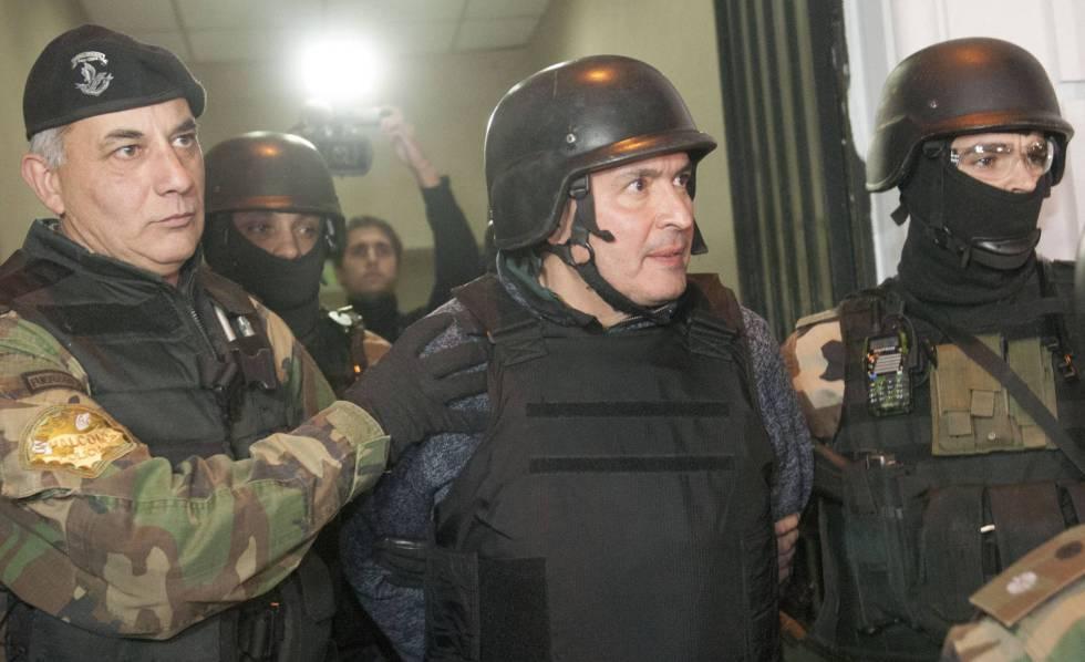 El exsecretario de Obras Públicas José López, detenido en junio de 2016.