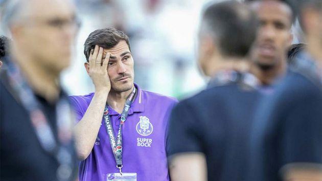 Casillas. en Twitter, pide que no lo den por retirado