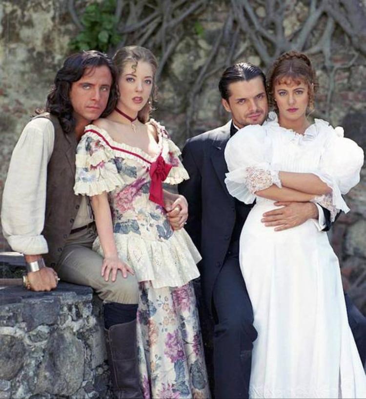 """Zarattini adaptó """"Corazón Salvaje"""" en 1993, una de las versiones más exitosas. Los antagónicos fueron Ana Colchero y Ariel López Padilla"""