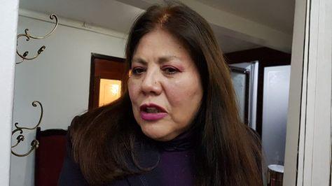 La diputada Norma Piérola se refiere al futuro de su partido tras la renuncia de Jaime Paz a la candidatura a la Presidencia. Foto: Ángel Guarachi