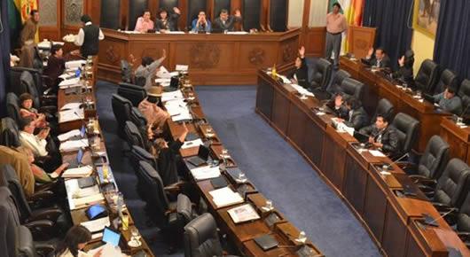 Resultado de imagen para senado boliviano