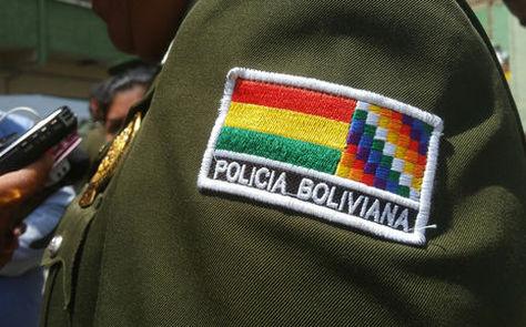 El emblema de la Policía boliviana. Foto: La Razón - archivo