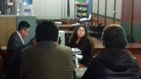 Maricruz Medrano declara en la Fiscalía por el caso WTC