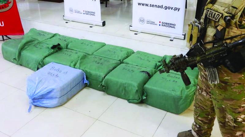 Cae colombiano en Paraguay, ligado a Cronenbold por droga