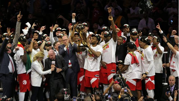 Hicieron historia Toronto Raptors campeones de la NBA