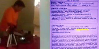 Denuncian que personal del Sereci de Pando empadronaba electores en Riberalta, Beni