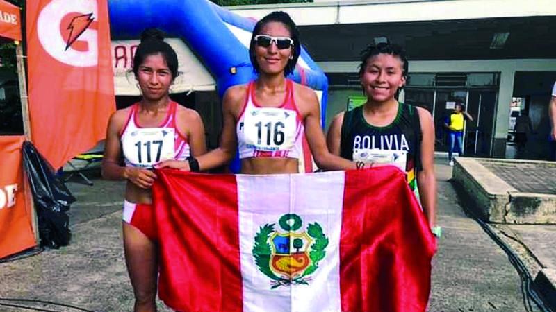 Bolivia logra tres bronces en el sudamericano atlético