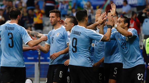 uruguay ingreso al club de los 400 goles en la conmebol copa america