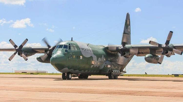 Avión de la Fuerza Aérea brasileña (@aeronauticaoficial)