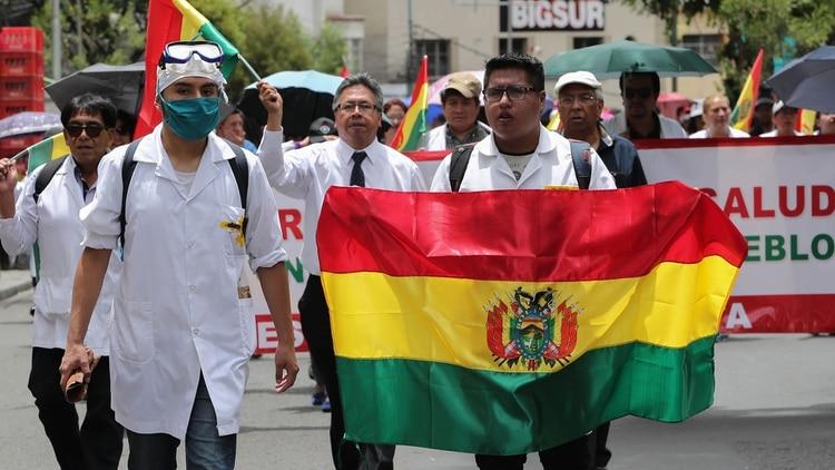 Durante un acto público, Morales prometió obras a cambio de votos