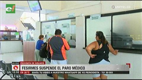 Fesirmes suspende paro médico tras acuerdo con el municipio