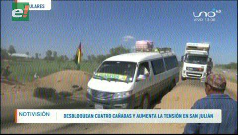 Video titulares de noticias de TV – Bolivia, mediodía del martes 11 de junio de 2019