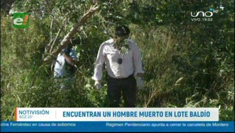 Encuentran muerto en un lote baldío a hombre reportado como desaparecido