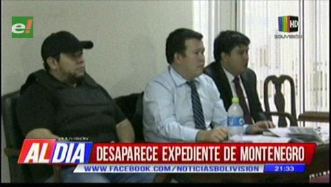 Desaparece expediente de Pedro Montenegro de juzgado de Cotoca