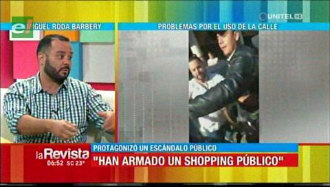 Miguel Roda Barbery: Armaron un shopping ilegal en la 7 Calles