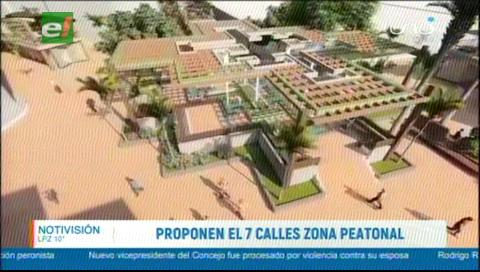 Concejal Fernández propone «paseo peatonal» en la zona del mercado 7 Calles