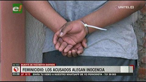 Policías acusados de matar a una mujer van a Palmasola