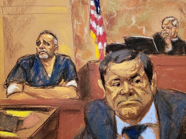 Más de 10 allegados al capo declararon en su contra durante el juicio (Foto: Reuters)
