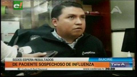 Reportan la muerte de paciente sospechoso de influenza en Sucre