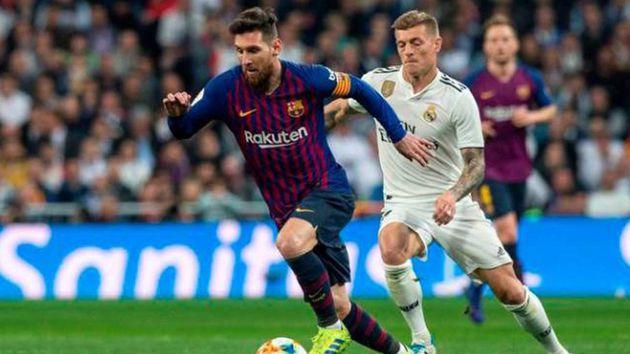 cuando se juega el clasico de espana real madrid vs barcelona 2019 2020