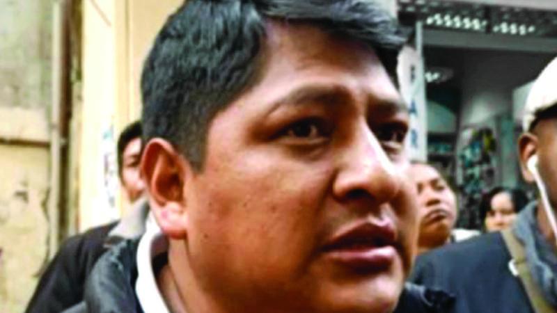 Adepcoca: Fiscalía activó al menos cinco denuncias contra Sergio Pampa, según abogado