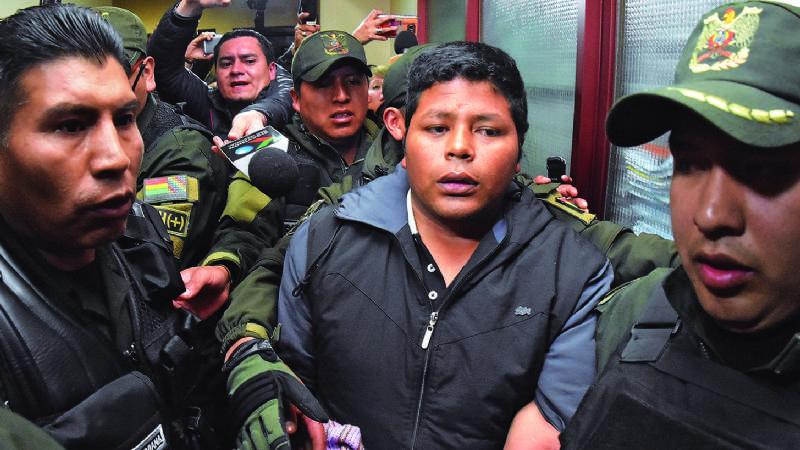 En un audio, un exfiscal revela que no hay pruebas contra Franclin Gutiérrez