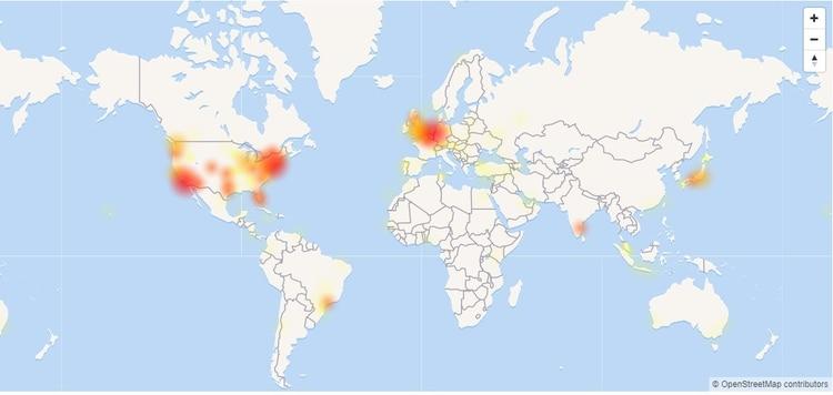 Twitter está caído y usuarios de varias partes del mundo reportaron problemas (DownDetector).