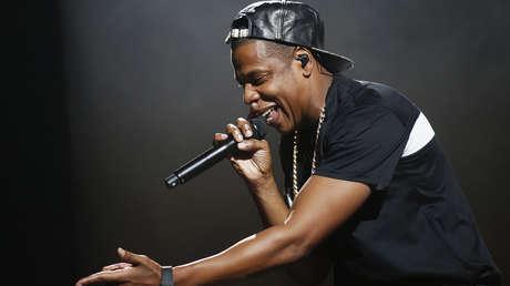 El rapero estadounidense Shawn Carter, conocido como Jay-Z, actúa en el estadio Bercy de París (Francia), 2013.