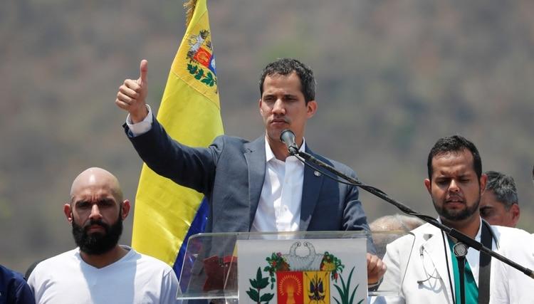 Juan Guaidó (REUTERS/Carlos Jasso)