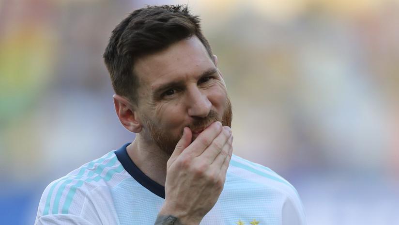 Messi suma un trofeo más a su palmarés y recibirá el Balón de trapo por su participación en la Copa América 2019