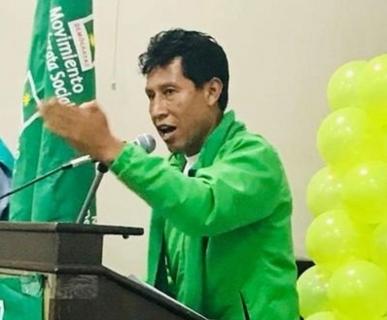 Bolivia: Edwin Rodríguez renuncia a candidatura presidencial