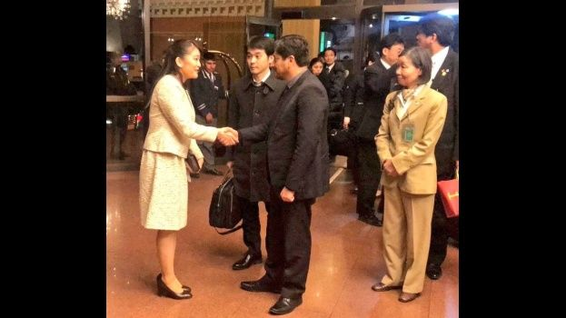 La princesa Mako de Japón, recibida con máximos honores en Bolivia