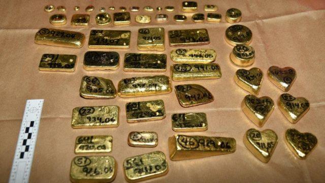 Incautan $ 5 millones en lingotes de oro en Londres transportados desde Venezuela
