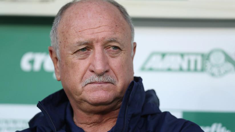 Una broma del entrenador brasileño Felipe Scolari desata la indignación por evocar la tragedia del Chapecoense