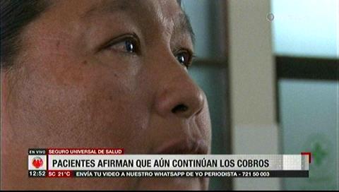 """Paciente: """"Prometen que va a haber salud gratuita pero no hay, todo eso es mentira"""""""