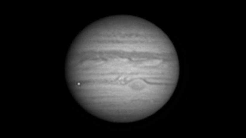 Aficionado grabó una impresionante explosión en Júpiter | EL UNIVERSAL - Cartagena