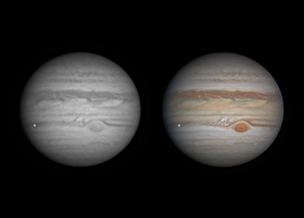 Fotógrafo captó el impacto de meteorito en Júpiter