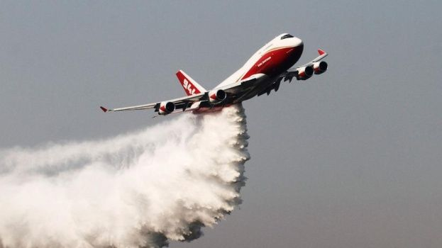 Evo anuncia contratación de un avión Supertanker para combatir los incendios en la Chiquitania boliviana