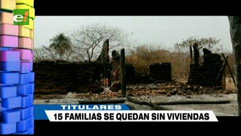 Video titulares de noticias de TV – Bolivia, noche del miércoles 11 de septiembre de 2019