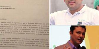 Camacho, pide oficialmente a presidentes de la Expocruz  y Cainco retirar invitación a la Feria a Morales y García Linera