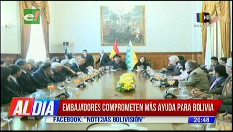 Incendios en la Chiquitania: Embajadores comprometen más ayuda para Bolivia