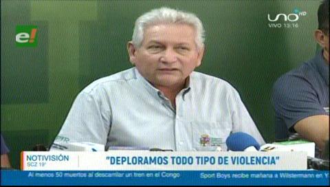 Costas lamentó los enfrentamientos registrados la jornada del jueves