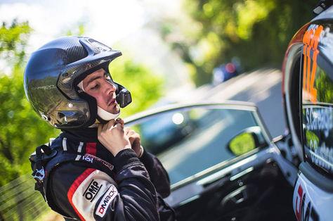 Sebastián Careaga, el líder de la RC2 en el Gran Premio de Automovilismo. Foto: Facebook Sebastián Careaga